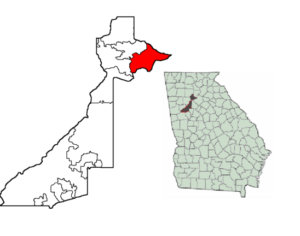 Johns Creek map